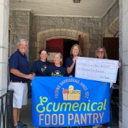 Paulus Mt. Airy Orchard for a very generous donation of $2,500 to the Ecumenical Food Pantry